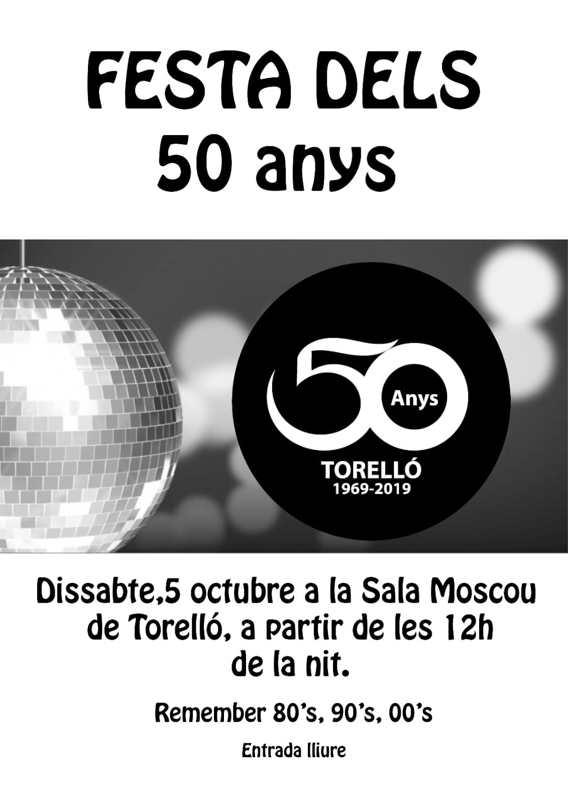 Festa dels 50 anys